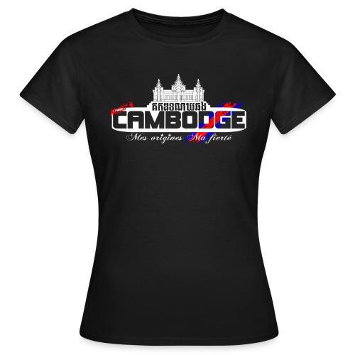 logo cambodge - T-shirt Femme