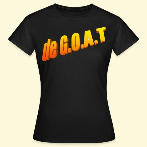 Kwibus - De G.O.A.T - Vrouwen T-shirt