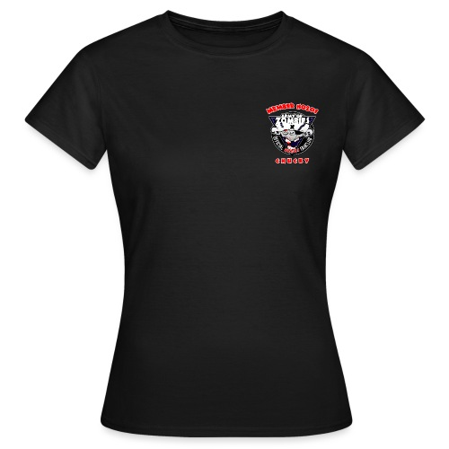 Brustlogo AoZ0201 - Frauen T-Shirt