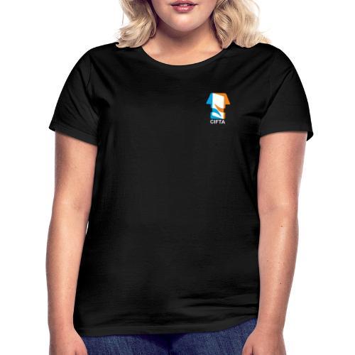 Logo CIFTA final letra blanco - Camiseta mujer
