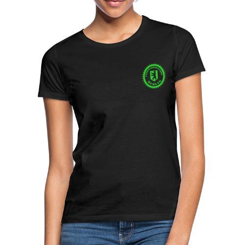 Eisspeedwayunion Logo grün zweiseitig - Frauen T-Shirt