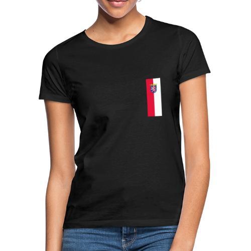 Hessen Flag - Frauen T-Shirt