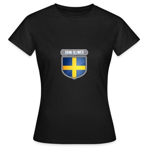 John Oliwer Sverige Sköld - T-shirt dam