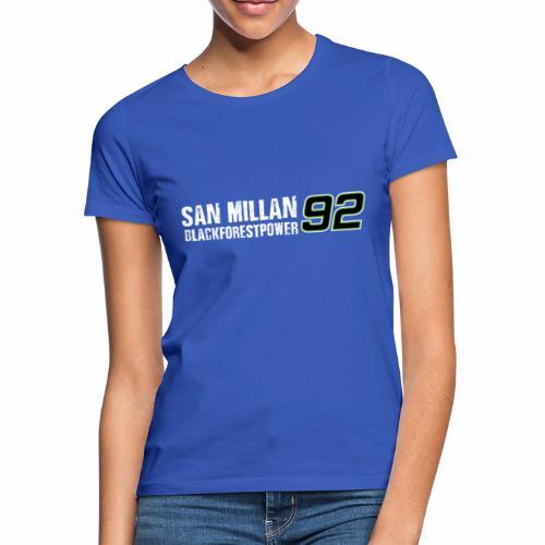 San Millan Blackforestpower 92 - vorne und hinten - Frauen T-Shirt