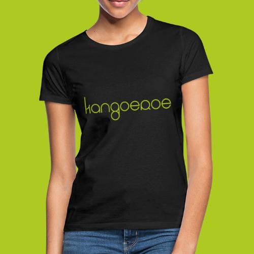 Green Kangoeroe design - T-shirt Femme