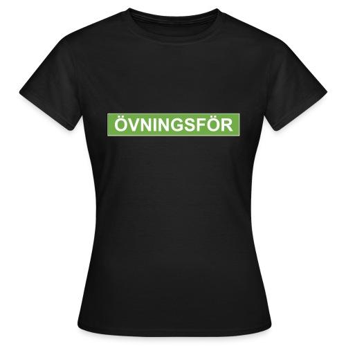 ÖVNINGSFÖR - T-shirt dam