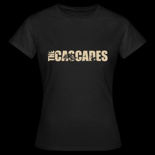 The Cascades logo vintage white - Women's T-Shirt