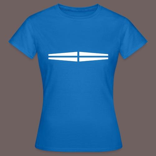 GBIGBO zjebeezjeboo - Rock - Traversant Blanc - T-shirt Femme
