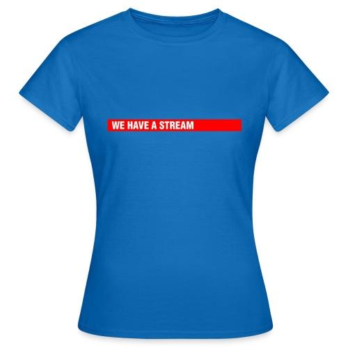 Stream Logo Gross - Frauen T-Shirt