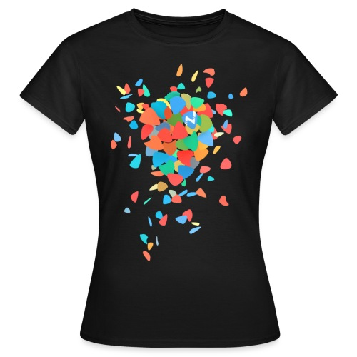 Guitar Pick Explosion - Women's T-Shirt