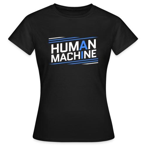 Human Machine Umanoide Robot Intelligenza AI - Maglietta da donna