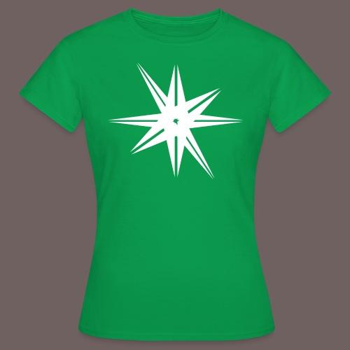 GBIGBO zjebeezjeboo - Rock - Octa Star Blanc - T-shirt Femme