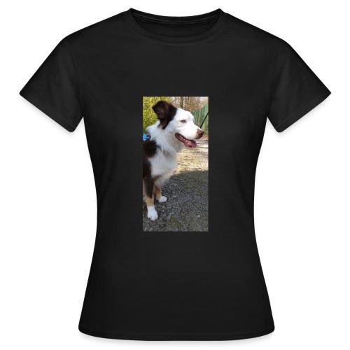 Der Hundi guckt... - Frauen T-Shirt