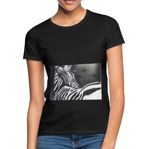 creation zebre fait main - T-shirt Femme
