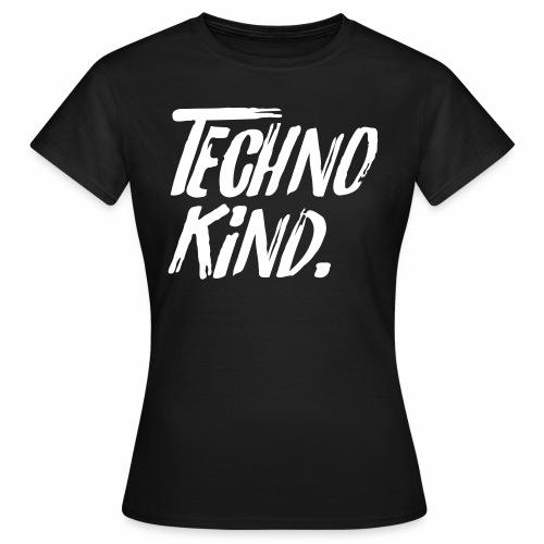 Techno Kind Raver Familie Afterhour Musik DJ Liebe - Frauen T-Shirt