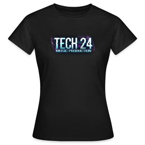 Tech 24 Logo - Women's T-Shirt