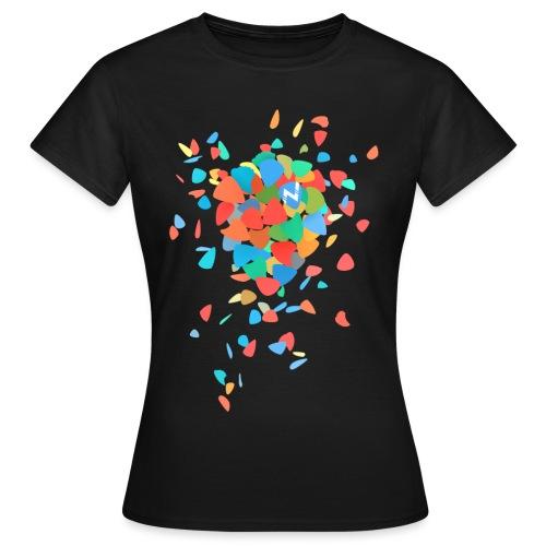 Guitar Pick Explosion - Women's T-Shirt