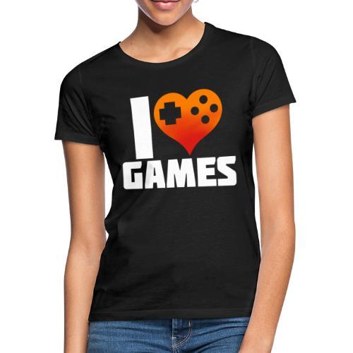 I <3 Games - Frauen T-Shirt