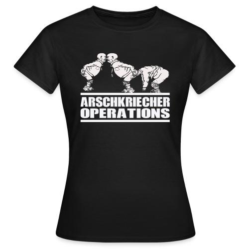 AO - Arschkriecher Operations - Frauen T-Shirt