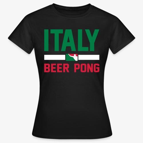 Italy Beer Pong - Frauen T-Shirt