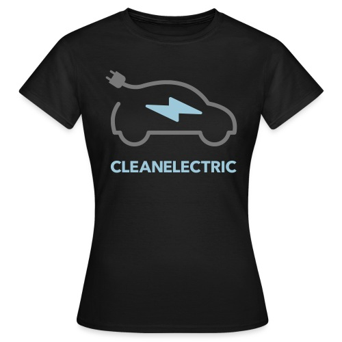 CLEANELECTRIC Logo - Frauen T-Shirt