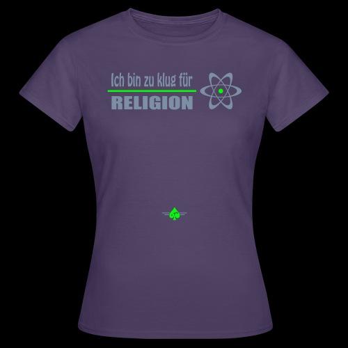 Atheist - Frauen T-Shirt