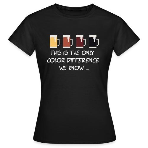 No to racism - Women's T-Shirt