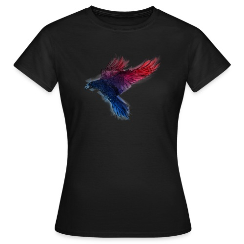 Watercolor Raven - Frauen T-Shirt