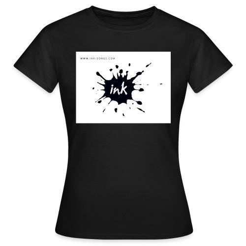 Ink Logo and website - Women's T-Shirt