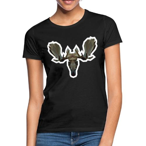Low Poly Moosehead - Vrouwen T-shirt