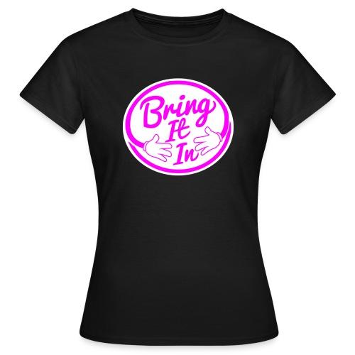 BII Pink font png - Women's T-Shirt