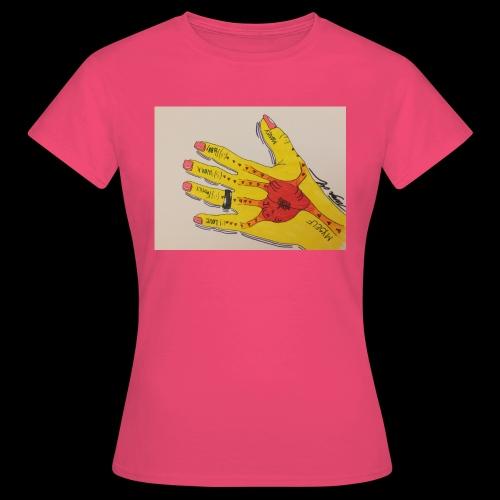 9D8D600F D04D 4BA7 B0EE 60442C72919B - Dame-T-shirt