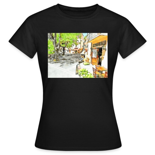 Tortora: il bar - Maglietta da donna