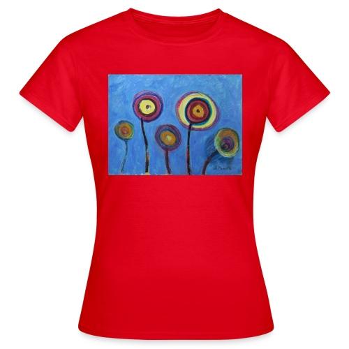 Blue flower - Maglietta da donna