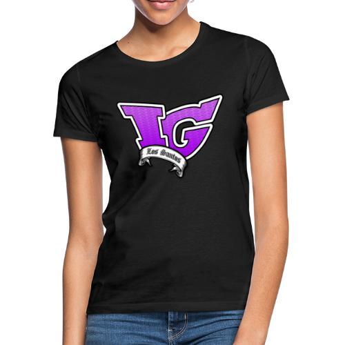 Ofizielles Irongamerz Los Santos Logo Girlz - Frauen T-Shirt