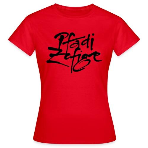 pfadi zofige - Frauen T-Shirt