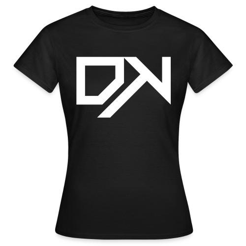 DewKee Logo Cap White - Women's T-Shirt