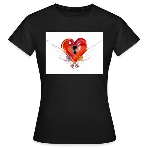 stvalentinmotif2 - T-shirt Femme