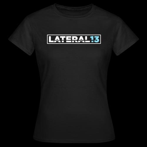 Lateral noir - T-shirt Femme