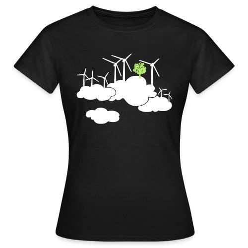 ein frischer Wind - Frauen T-Shirt