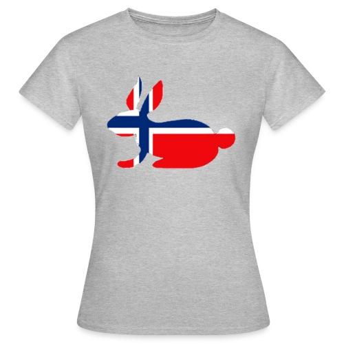 norwegian bunny - Women's T-Shirt