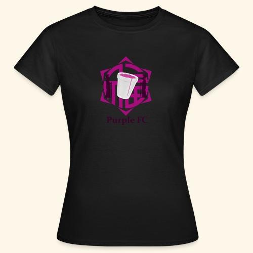 PURPLE FC - Camiseta mujer