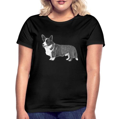 welsh Corgi Cardigan - Dame-T-shirt