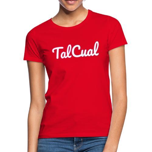 TalCual Logo Alternativo - Camiseta mujer