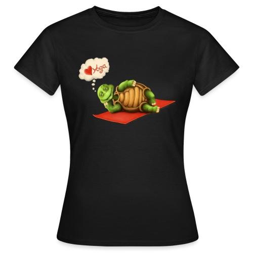 Love-Yoga Turtle - Frauen T-Shirt