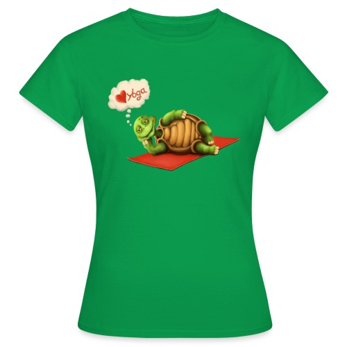 Love-Yoga Turtle - Frauen T-Shirt
