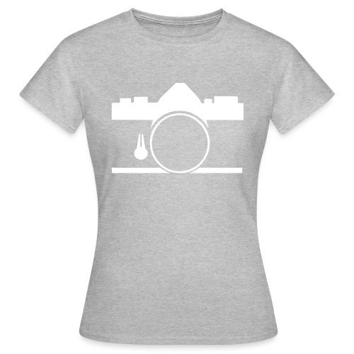 Vintage camera OM film slr - Maglietta da donna