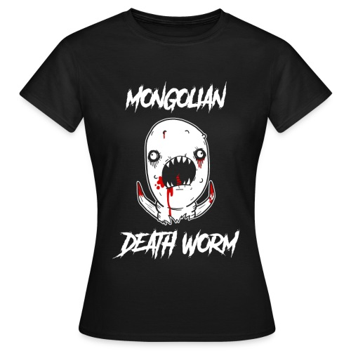 Just John Comics - Mongolian Death Worm - Women's T-Shirt