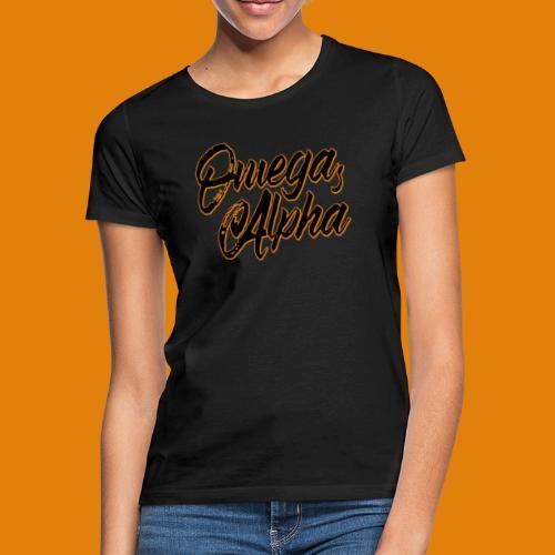 Omega's Alpha - Frauen T-Shirt