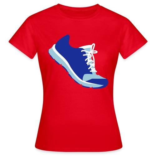 Laufschuh - Frauen T-Shirt
